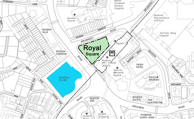 royalsquare-novena-location